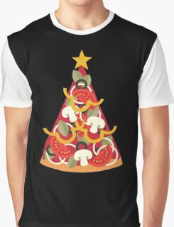 Pizza on Earth - Vegetarian Graphic T-Shirt