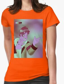 Draconic Lance Womens Fitted T-Shirt