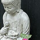 Garden Contemplation by Sandra Foster