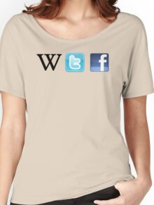WTF Social & Web Women's Relaxed Fit T-Shirt