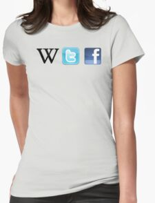 WTF Social & Web Womens Fitted T-Shirt