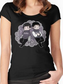 Death Spells Vector 2 Women's Fitted Scoop T-Shirt