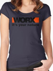 Worx Tools Its Your Nature Women's Fitted Scoop T-Shirt