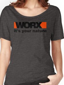 Worx Tools Its Your Nature Women's Relaxed Fit T-Shirt