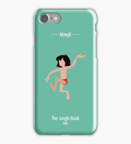 Mowgli Illustration iPhone Case/Skin