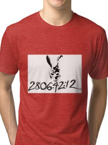 DONNIE DARKO - 28:06:42:12 Tri-blend T-Shirt