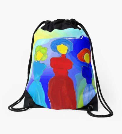 Three Sisters Drawstring Bag