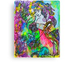 Touched Canvas Print