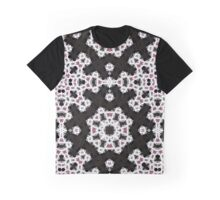 Bejewelled White Lace Graphic T-Shirt