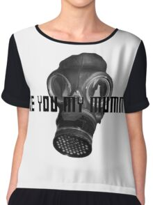 Doctor Who - Are You My Mummy? Chiffon Top