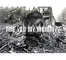 Doctor Who - Are You My Mummy? Photographic Print