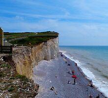 Beachy Head White Cliffs & Beaches by Vanessa  Warren