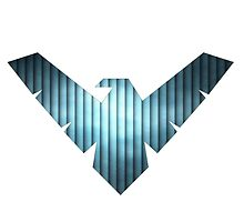 Nightwing Logo 02 by miss0aer