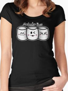 Marshmallow Peeps Women's Fitted Scoop T-Shirt
