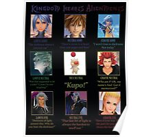 Kingdom Hearts Alignment Chart Poster