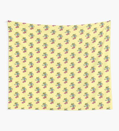 Cool Dog Thumbs Up Wall Tapestry