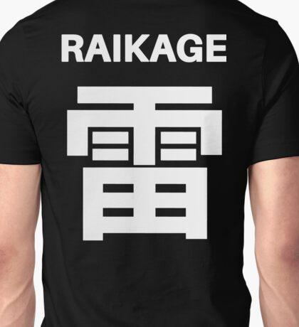 Kage Squad Jersey: Raikage Unisex T-Shirt