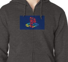 PlayStation Logo Zipped Hoodie