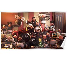 Team Fortress 2 Baby Fortress Heavy Sons Poster Poster