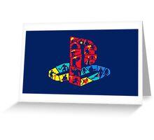 PlayStation Logo Greeting Card