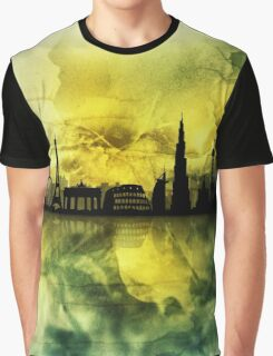 The Best city skyline 1 Graphic T-Shirt