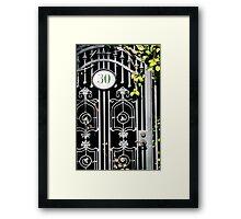 Door 30 Framed Print