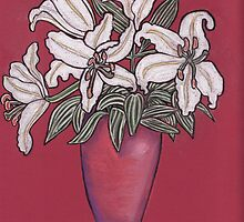 White Lillies by MagsWilliamson