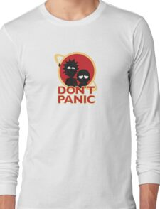 RICK AND MORTY | DONT PANIC Long Sleeve T-Shirt