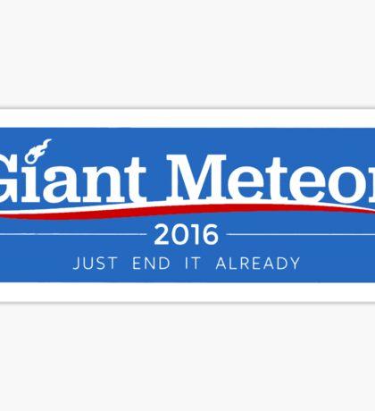 Giant Meteor 2016 Sticker