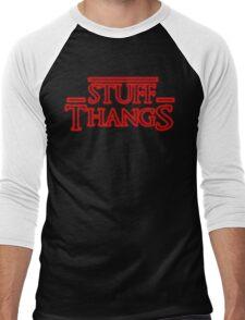 Stuff and Thangs  Men's Baseball ¾ T-Shirt