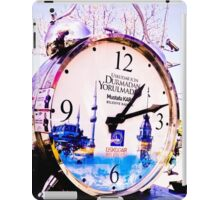 Watch marques not hours. iPad Case/Skin