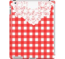 Country Lace - Tomato iPad Case/Skin