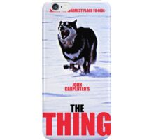 THE THING 3 iPhone Case/Skin