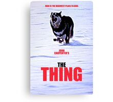 THE THING 3 Canvas Print