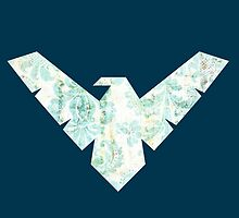 Nightwing Logo 05 by miss0aer