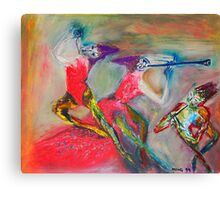 Ceremonial Dance Canvas Print