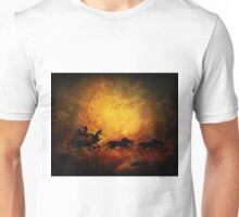 Wild west cowboy chaise Unisex T-Shirt