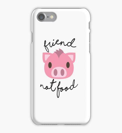 Friend Not Food iPhone Case/Skin
