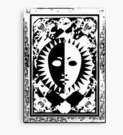 PC - White Canvas Print