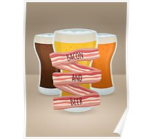 Bacon and Beer Poster