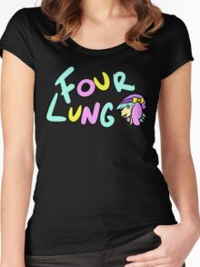 Four Lung Boom Bam Bang Women's Fitted Scoop T-Shirt