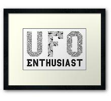 UFO Enthusiast Framed Print