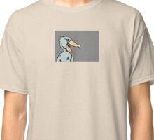 Shouting Shoebill Stork Classic T-Shirt