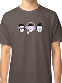 Three Hipster Apes Classic T-Shirt
