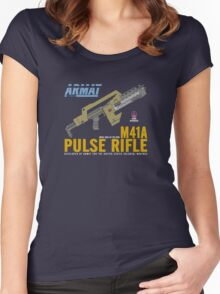 Aliens M41A Pulse RIfle Women's Fitted Scoop T-Shirt