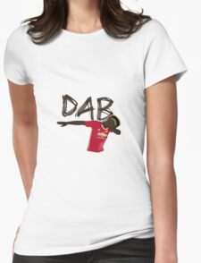 new jersey dab Womens Fitted T-Shirt
