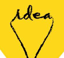 Idea Bulb Sticker