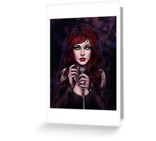 When I Sing... Greeting Card