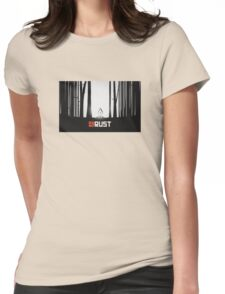 Rust Game Artwork Womens Fitted T-Shirt