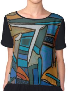 Urban Culture - Table for Two Chiffon Top